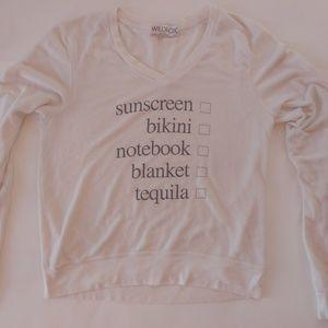 Wildfox Sunscreen Bikini Sweater